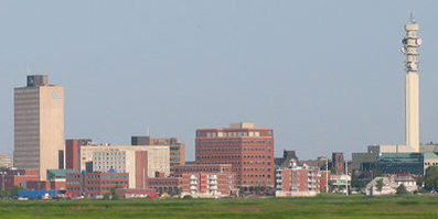 Skyline of Moncton
