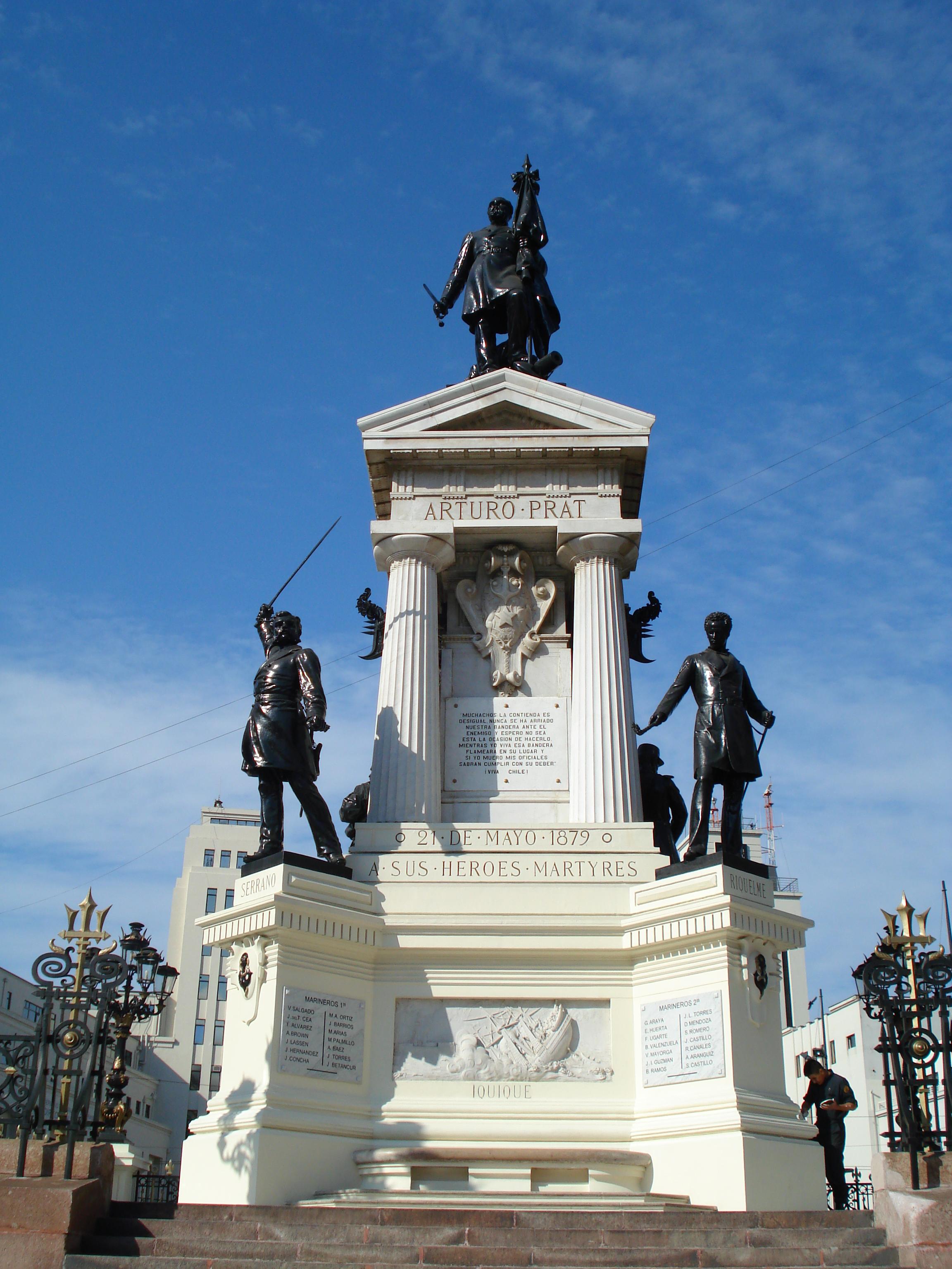 Monumento a los Héroes de Iquique - Wikiwand