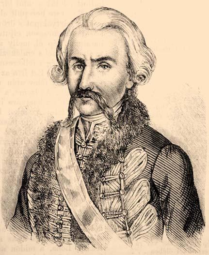 Nádasdy Ferenc (1708–1783). Illusztráció a Vasárnapi Ujság 1857. évi 26. számából
