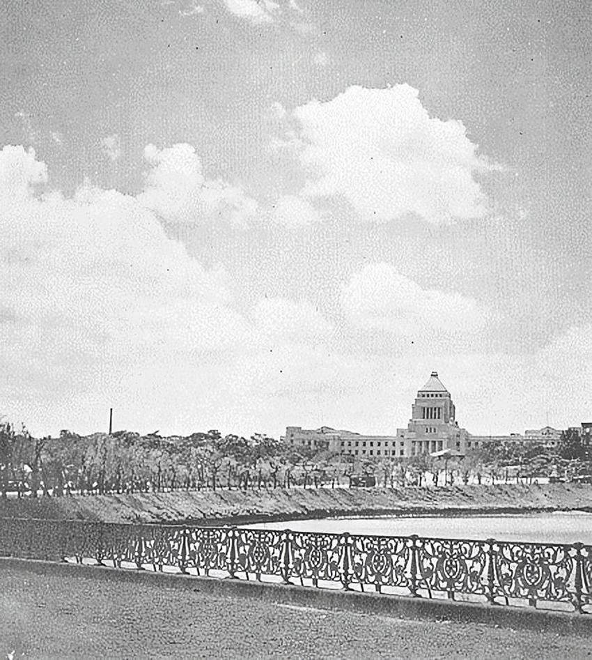 National Diet Building, 1930 National Diet in 1930s.jpg