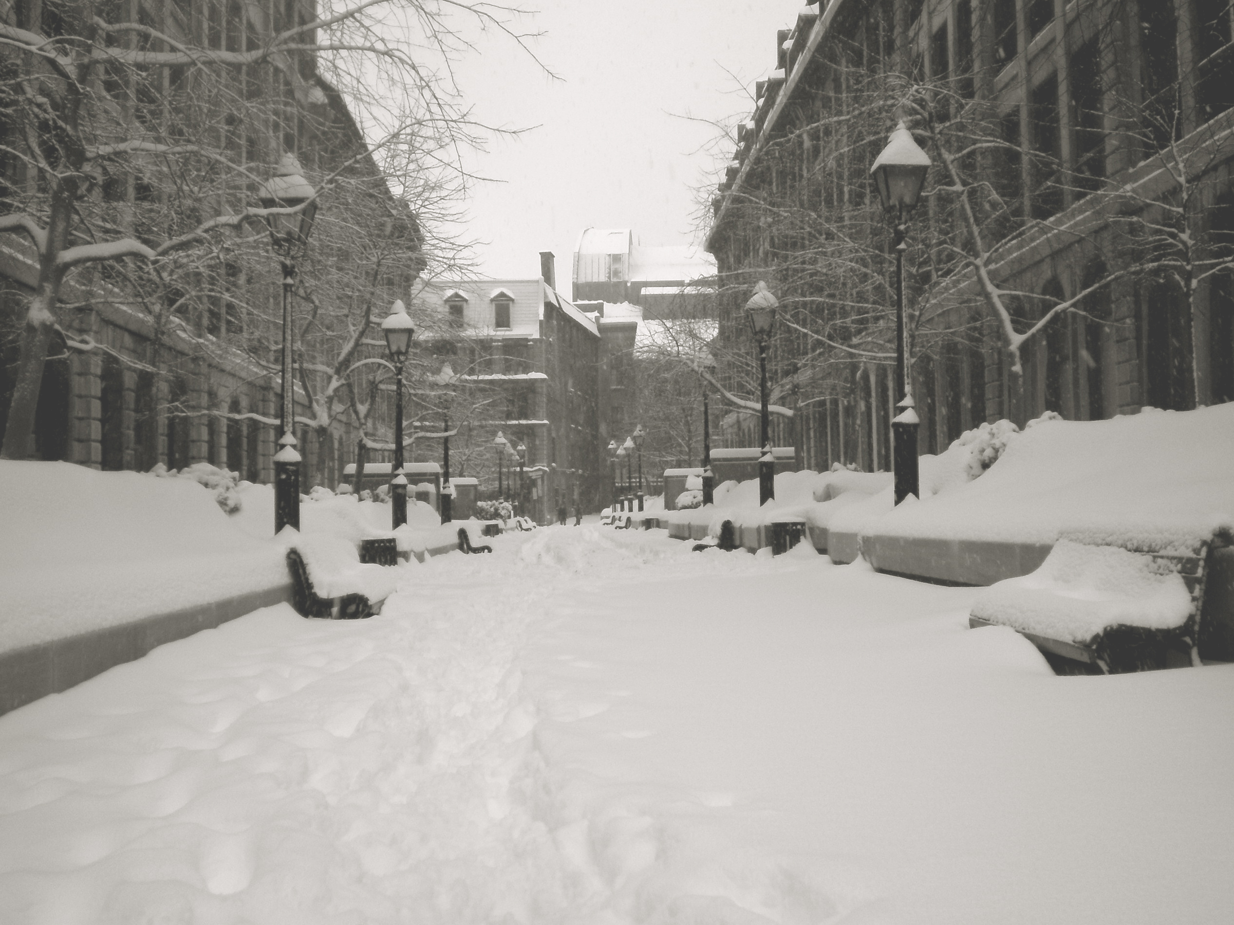 12 Of The Worst Winter Storms In The History Of Montreal - MTL Blog