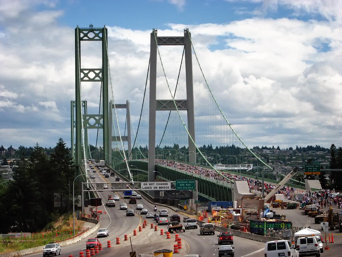 File New Tacoma Narrows Bridge Opening Celebration July