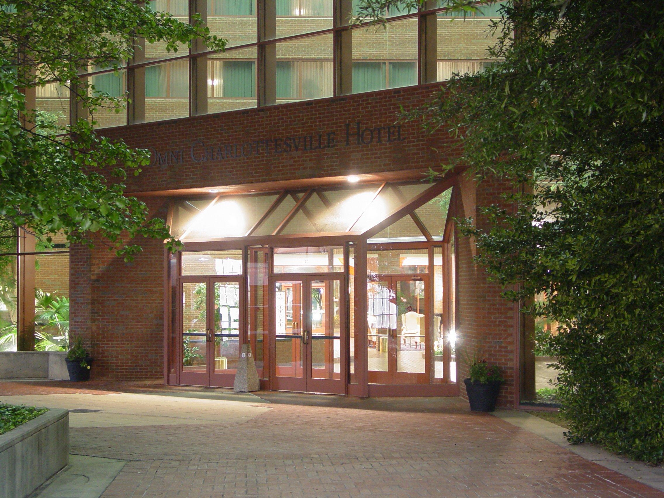 File Omni Charlottesville Hotel Entrance Jpg