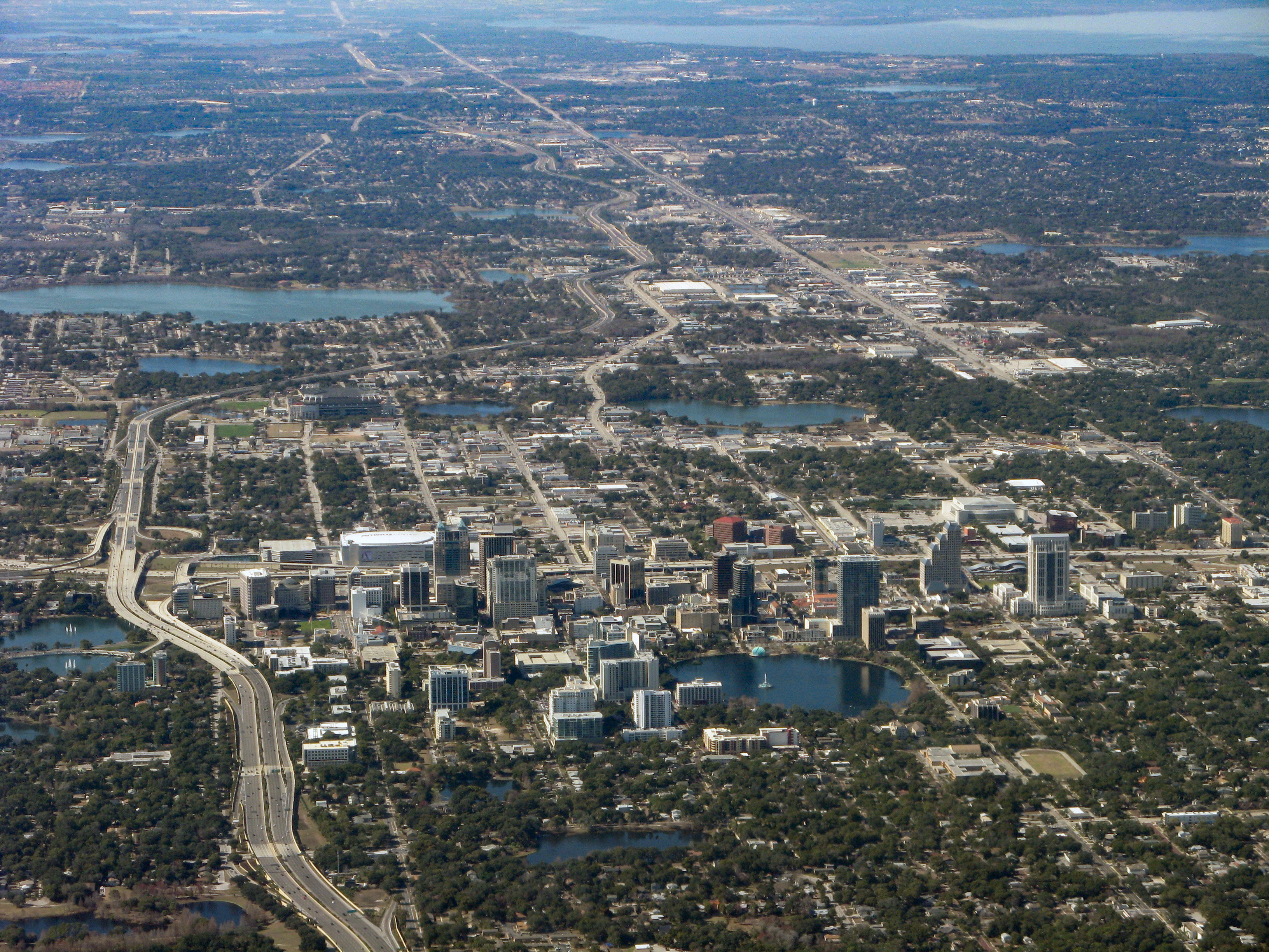 Airiel View of Orlando