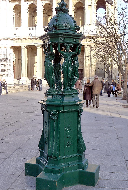 file p1000719 paris vi place st sulpice fontaine wallace. Black Bedroom Furniture Sets. Home Design Ideas