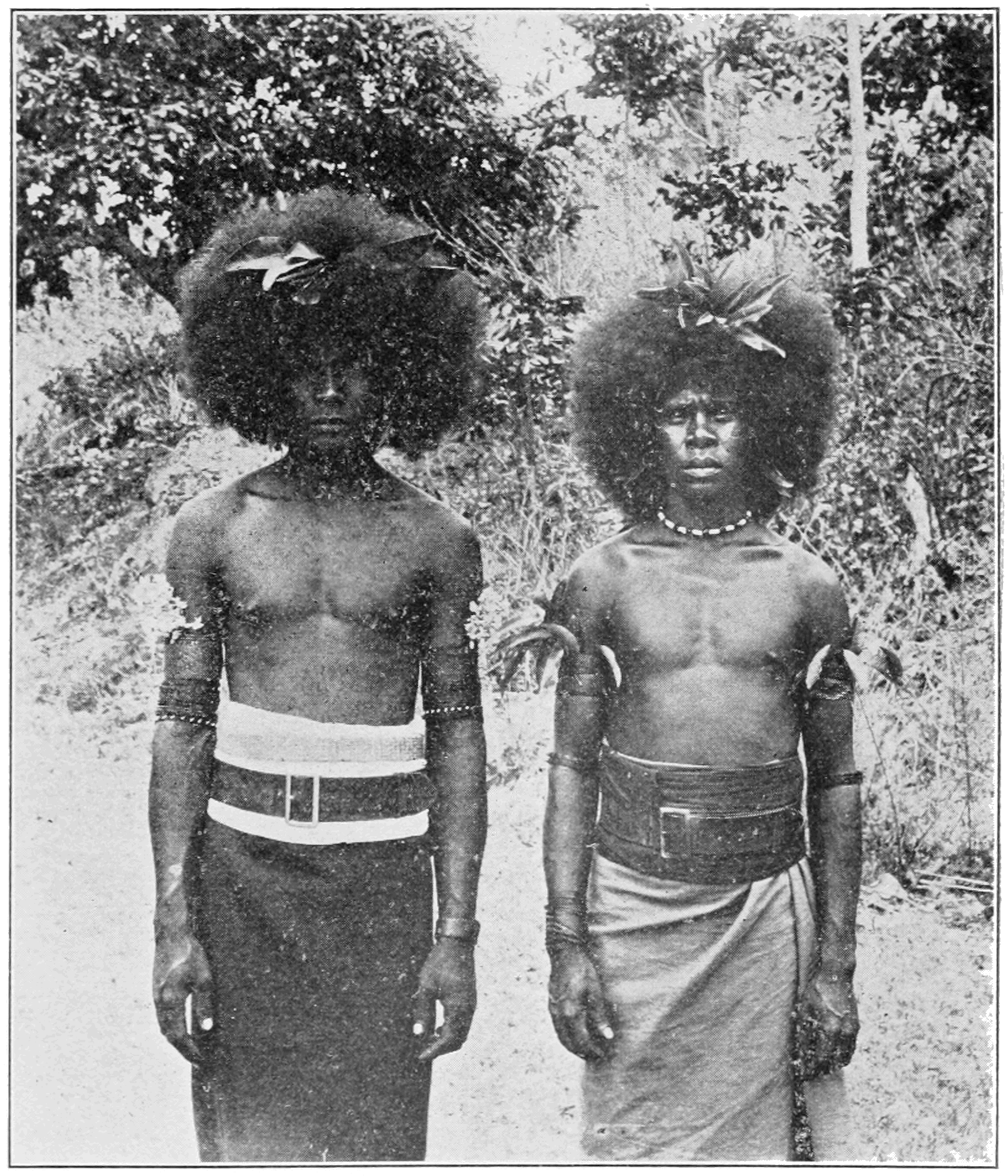 PSM V85 D231 Servants of the governor at port moresby.png