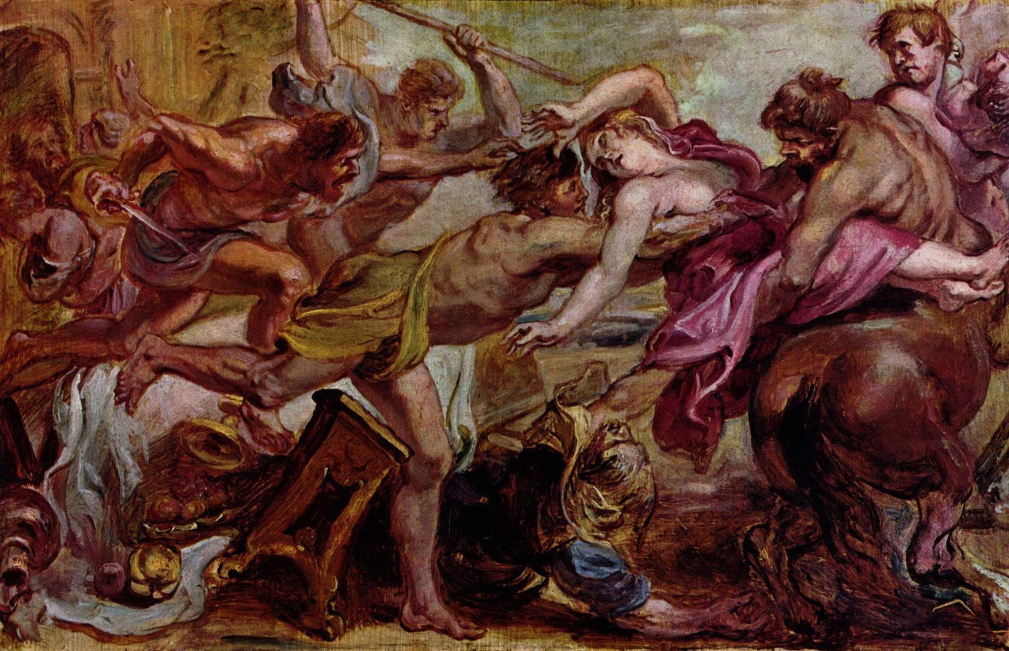 Abduction of Hippodamia Peter Paul Rubens  1637-1638