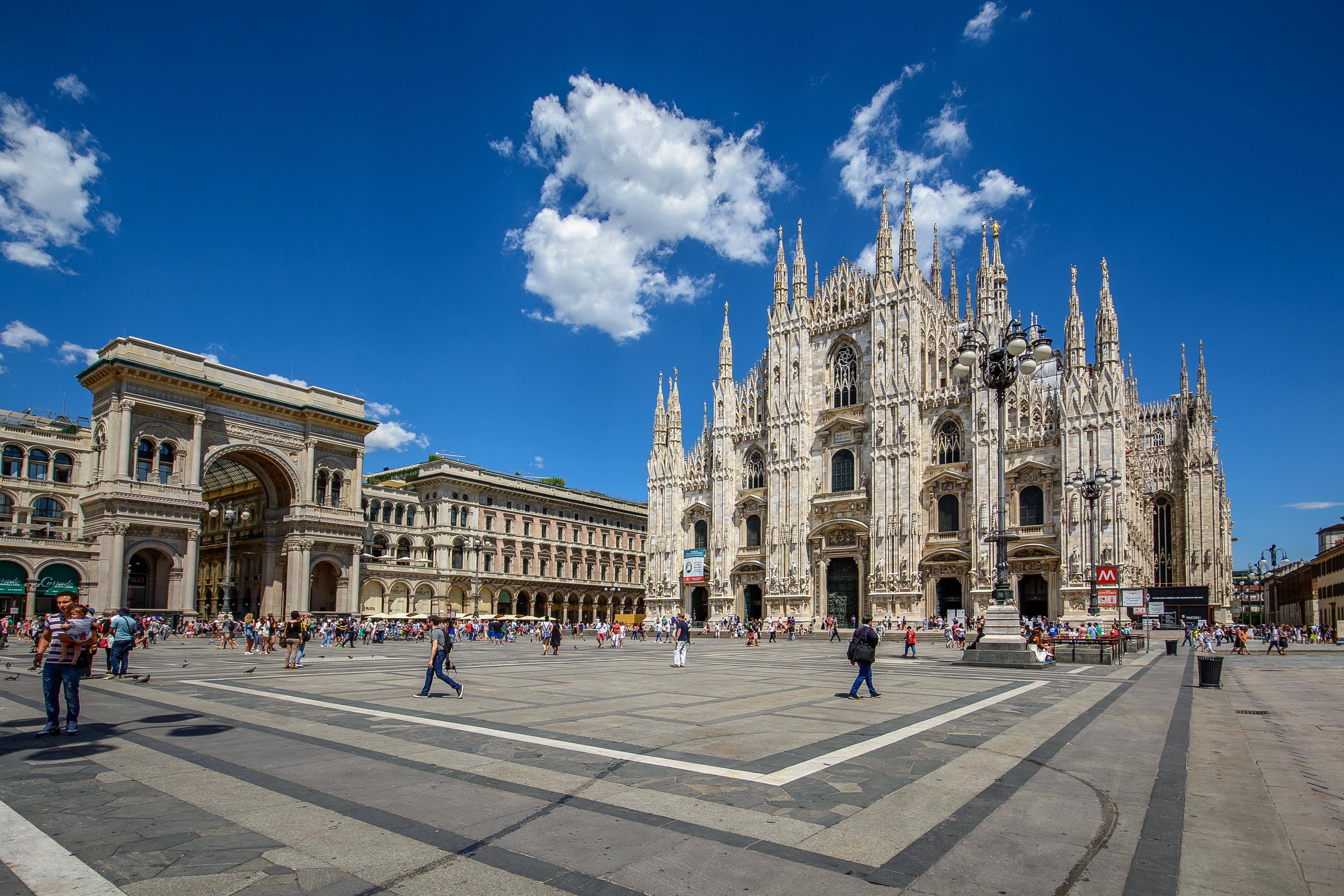 Piazza Del Duomo Milano Wikipedia