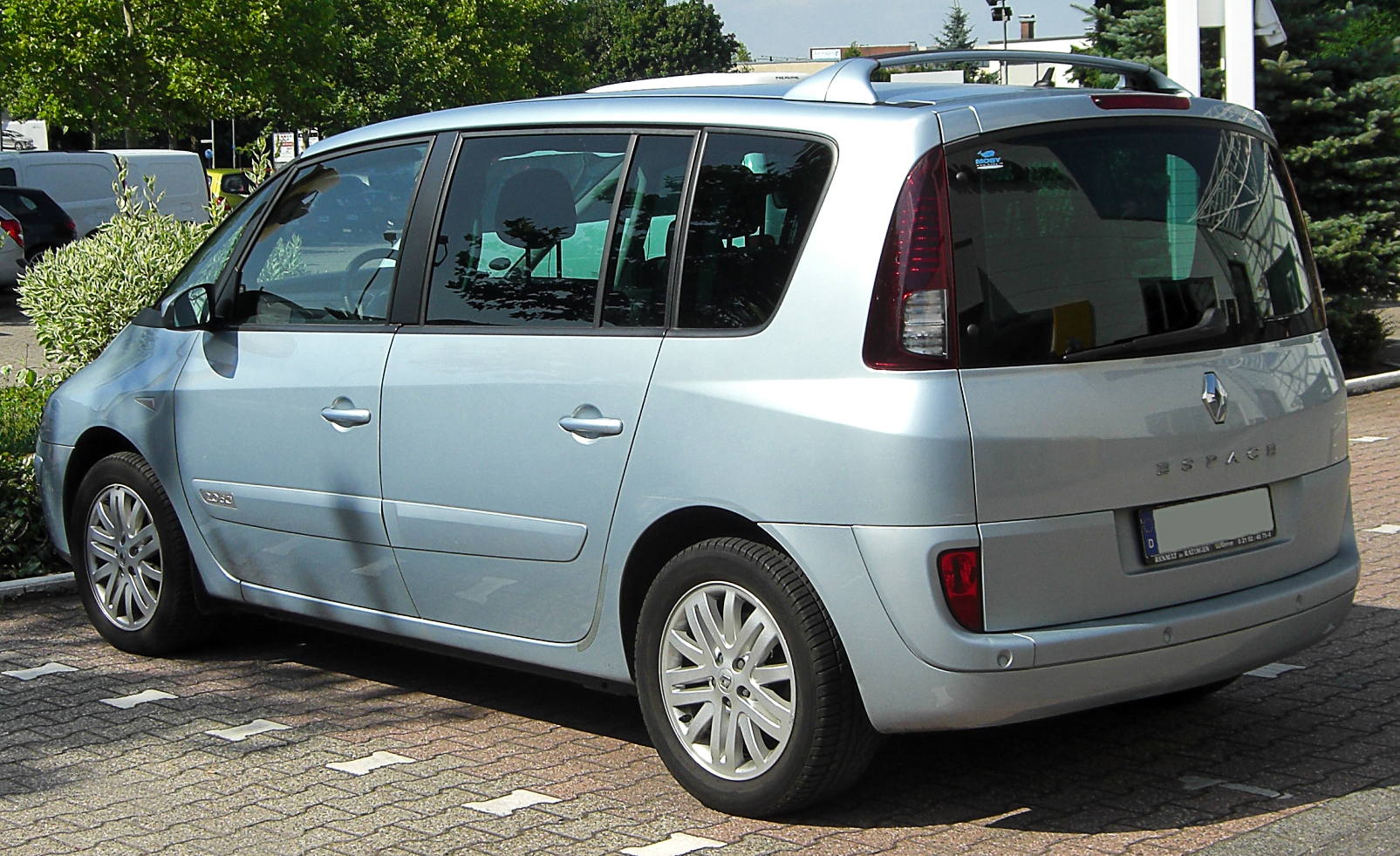 file renault espace iv 2 0 dci facelift rear wikimedia commons. Black Bedroom Furniture Sets. Home Design Ideas
