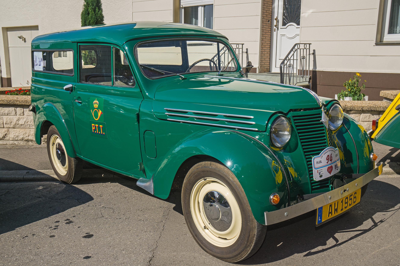 File Renault Juvaquatre Break P T Luxembourg Vintage Cars