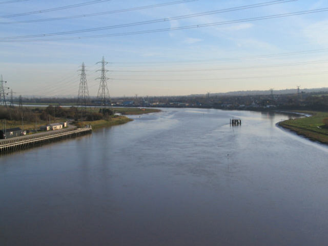 River Dee by Connah's Quay - geograph.org.uk - 198883