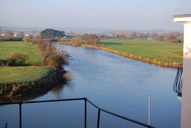 River Exe, Higher Wear - geograph.org.uk - 1109027