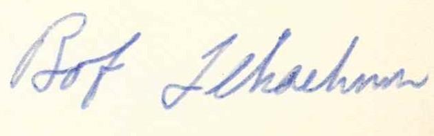 Lekachman's signature