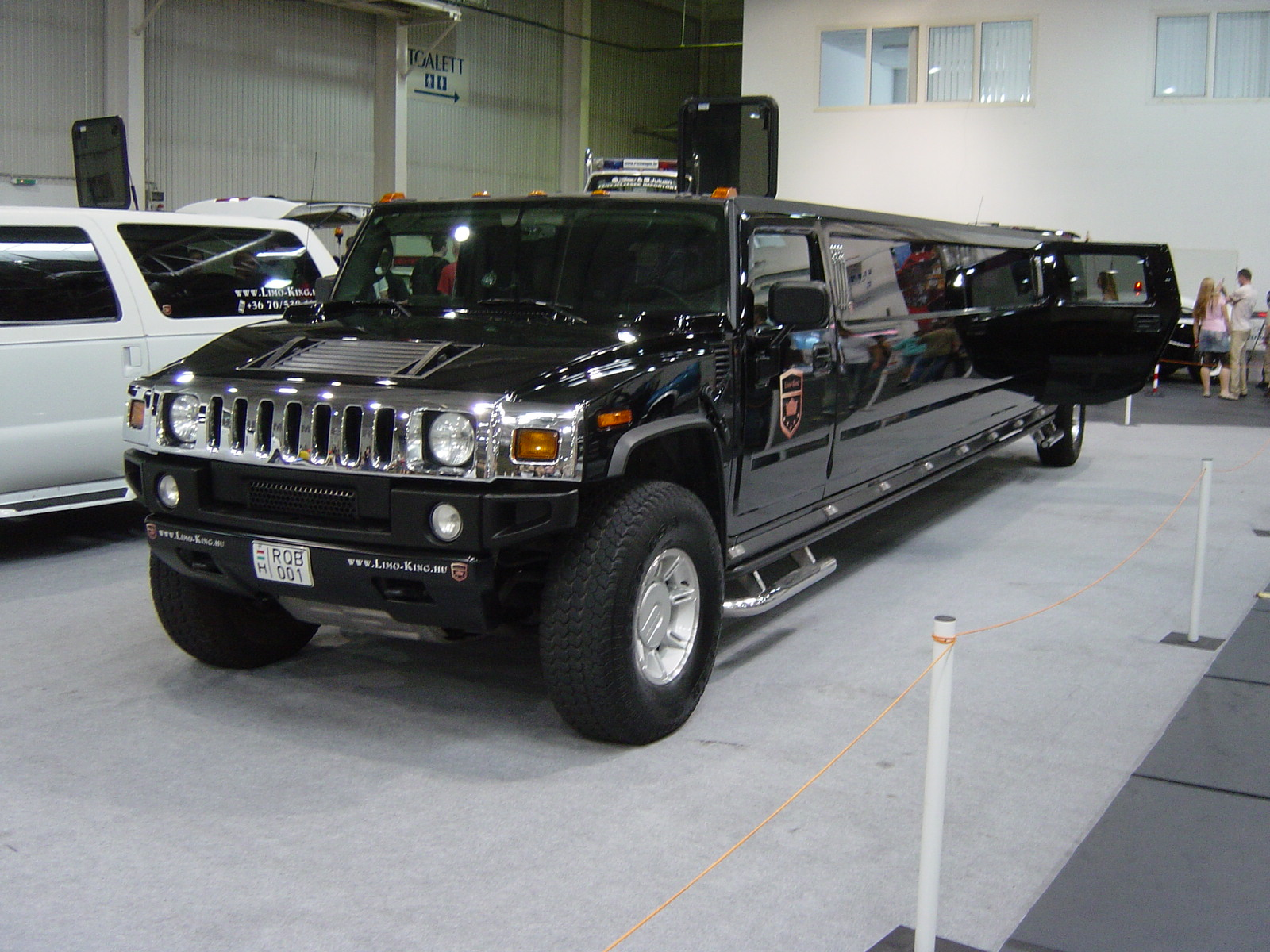 File Rod And Custom 2007 Hummer Limousine Front Jpg Wikimedia Commons