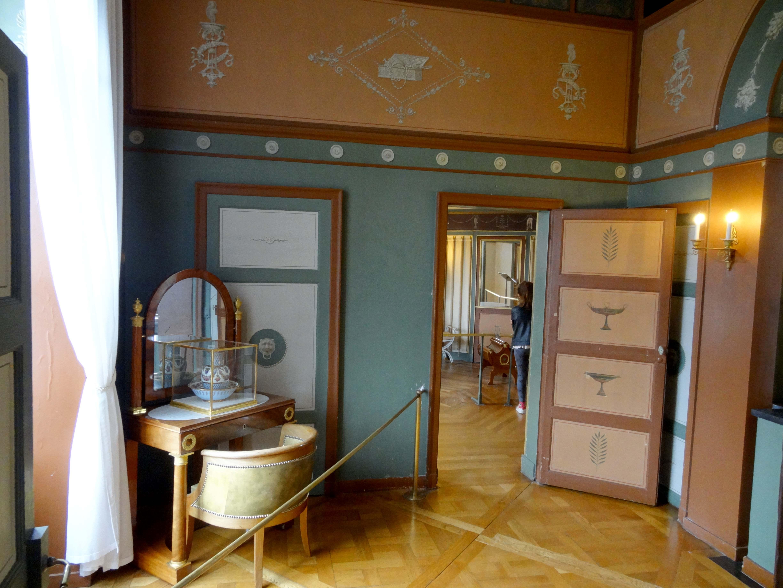 File:Rueil-Malmaison (92), château de Malmaison, cabinet de toilette ...