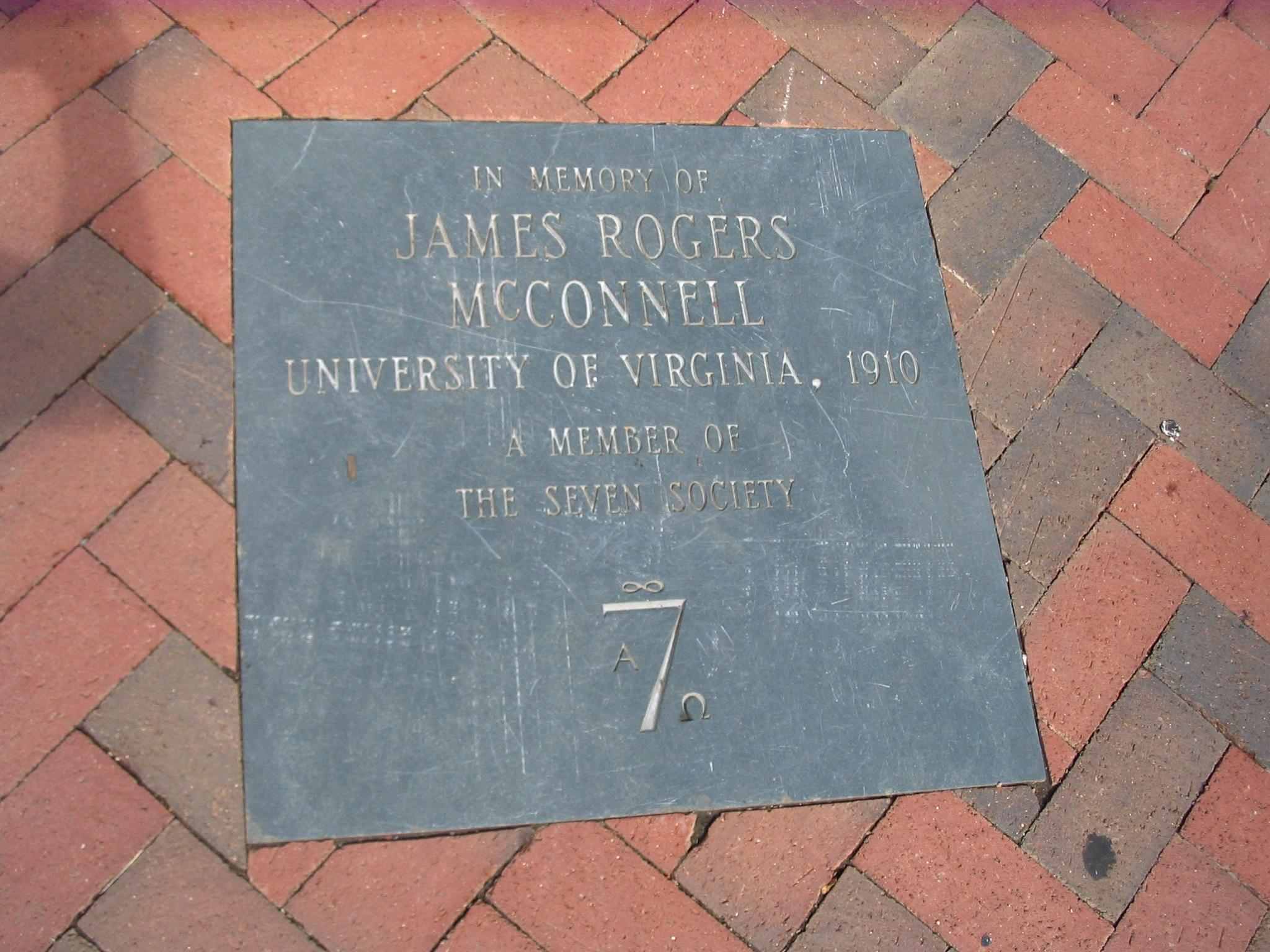 File:SEVEN SOCIETY plaque JPG - Wikimedia Commons