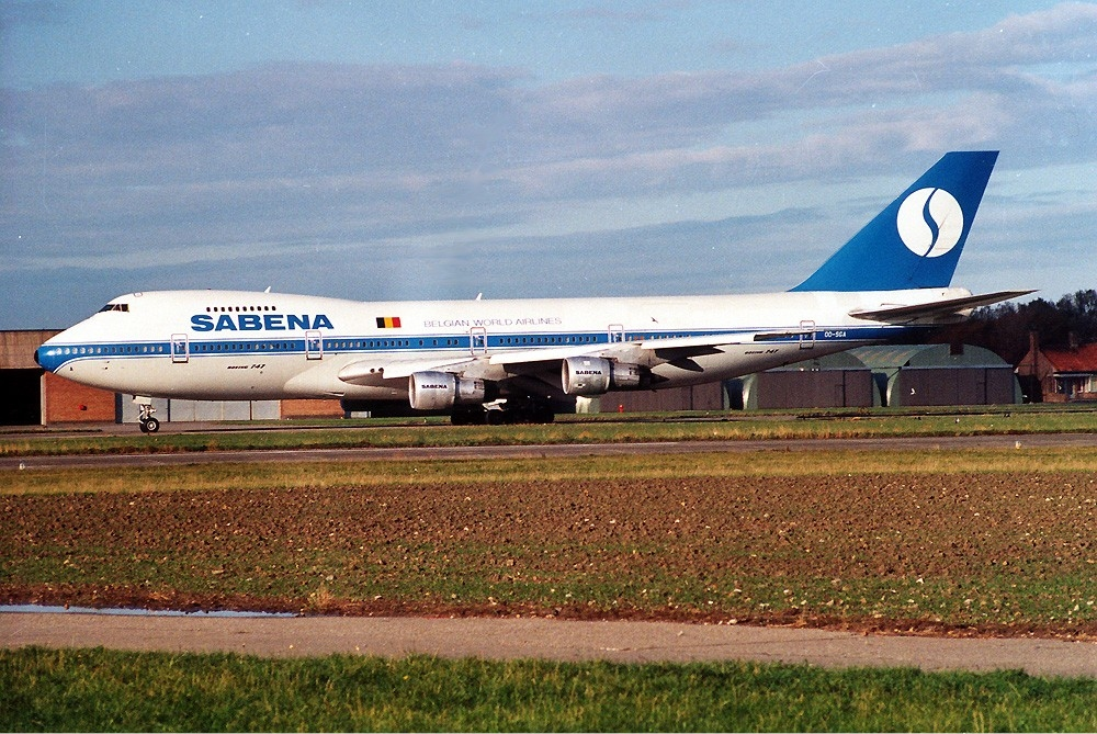 SABENA Boeing 747-329(SCD) (OO-SGD/24837/810) | Historic Pho ...