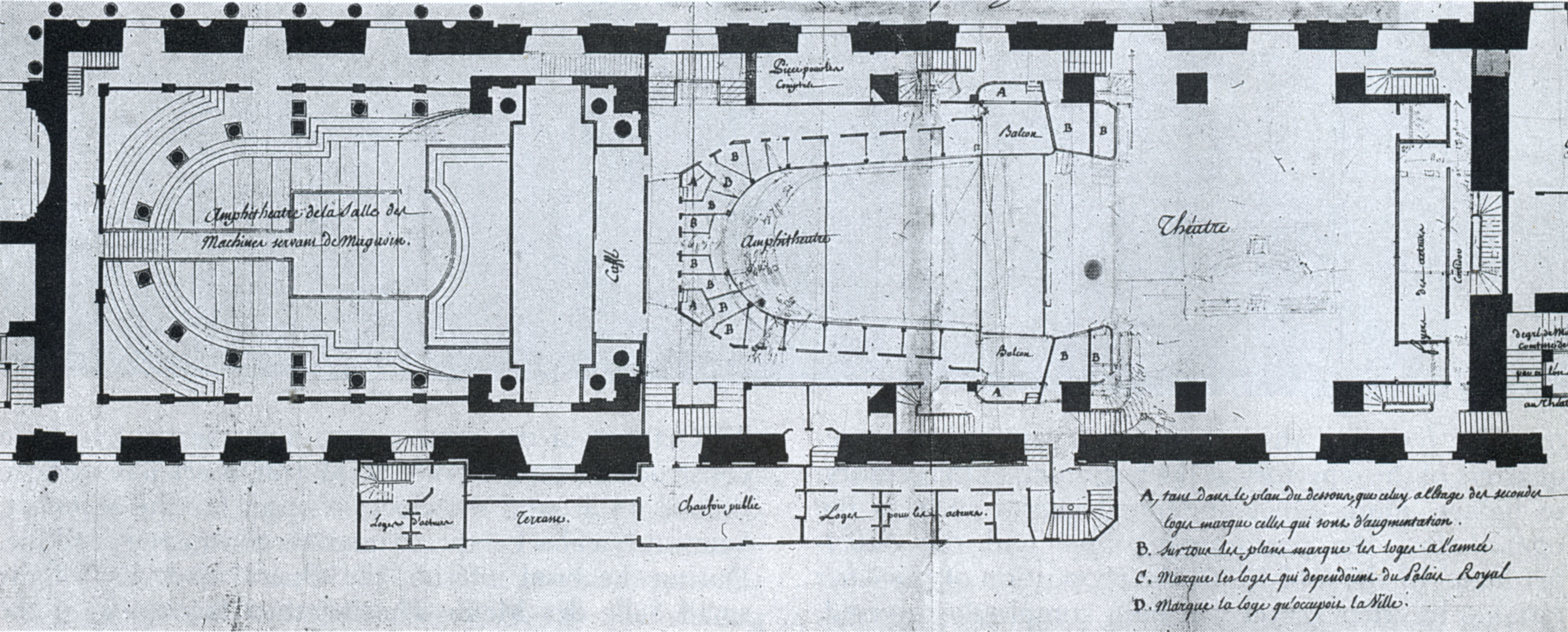 File:Salle des Machines - 1763 plan by Soufflot and Gabriel ...
