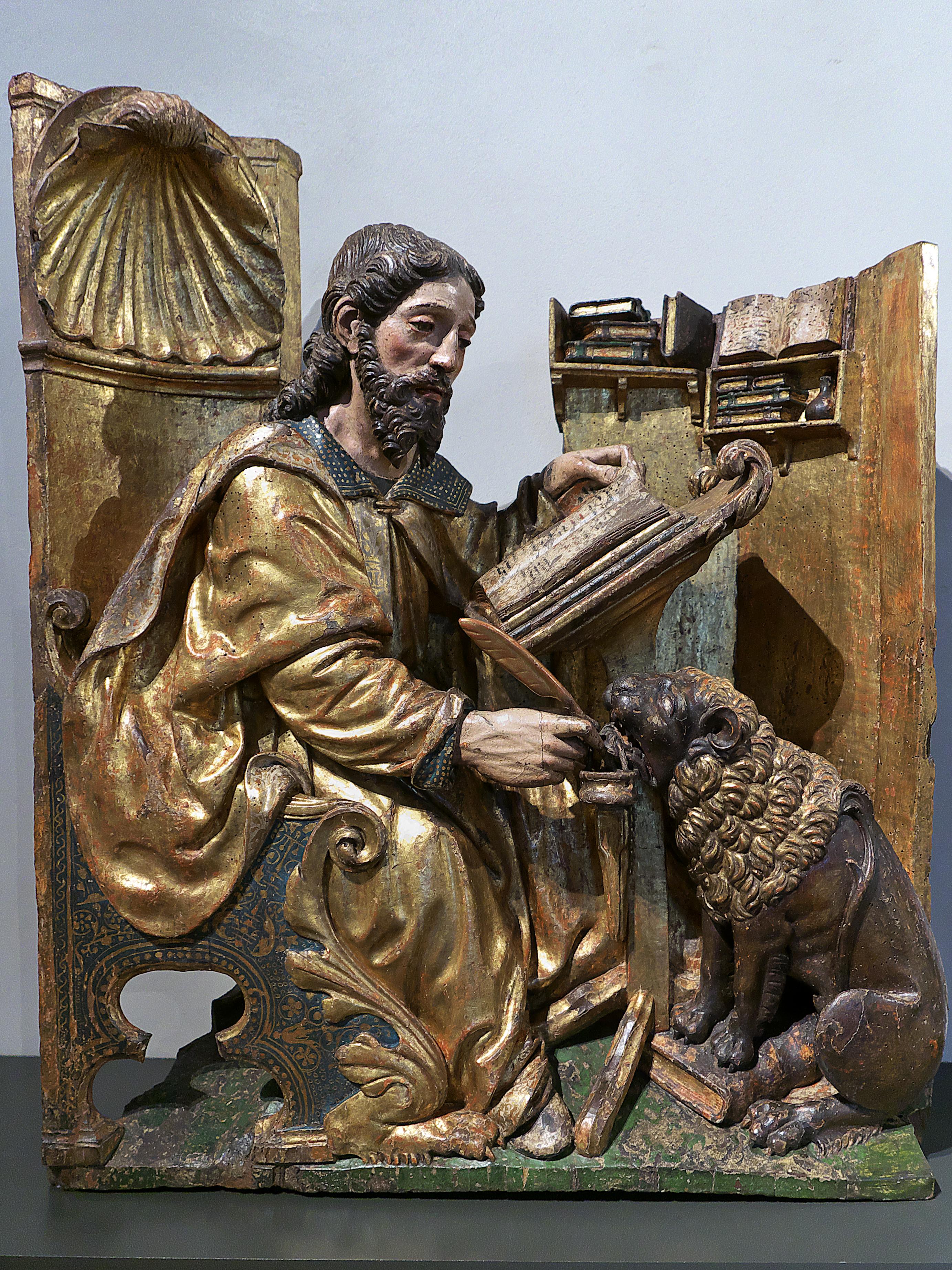 File:San Marcos Evangelista (Museo Nacional de Escultura).jpg ...