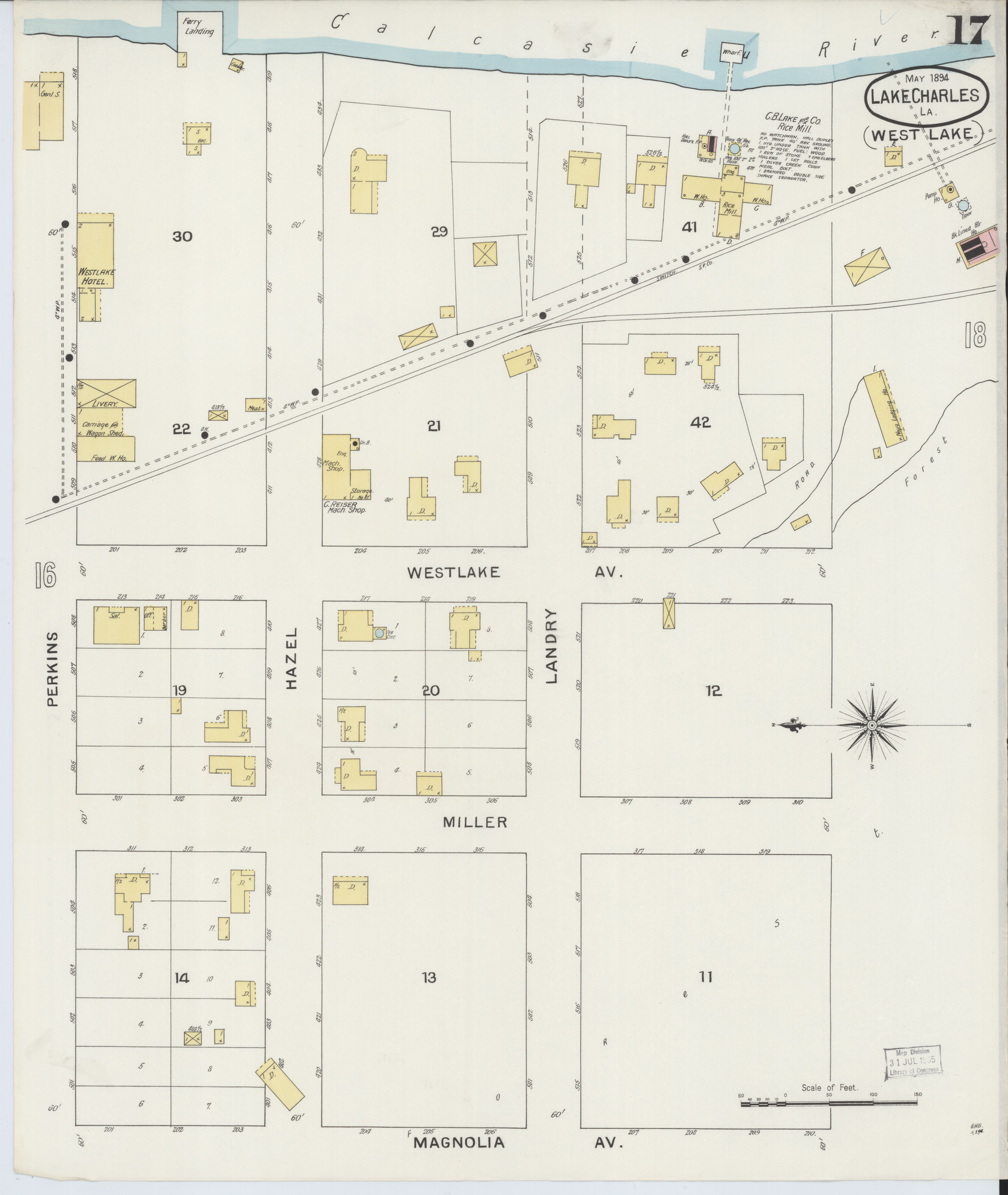 File:Sanborn Fire Insurance Map from Lake Charles, Calcasieu