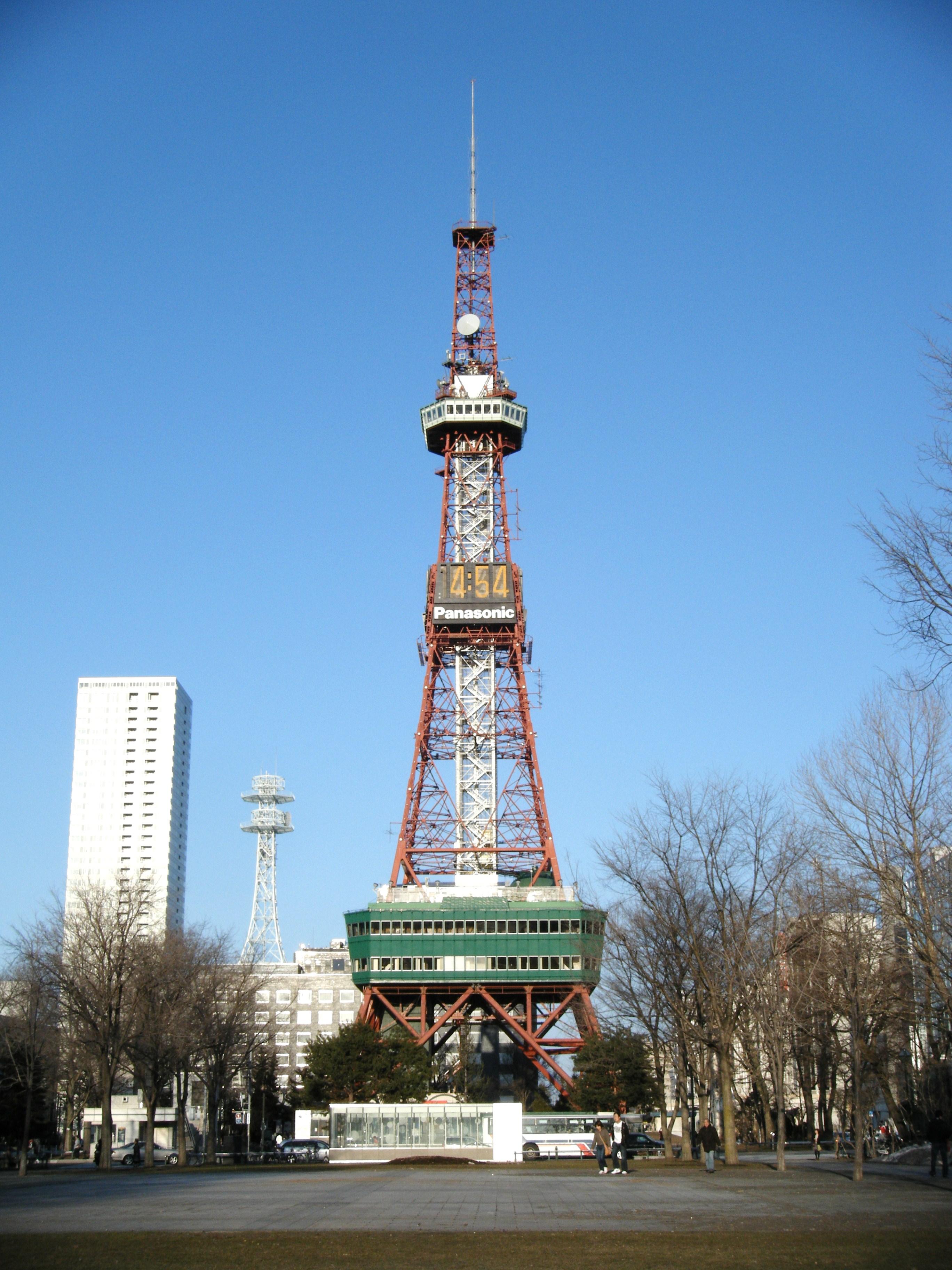 すすきの・札幌の観光スポット さっぽろテレビ塔