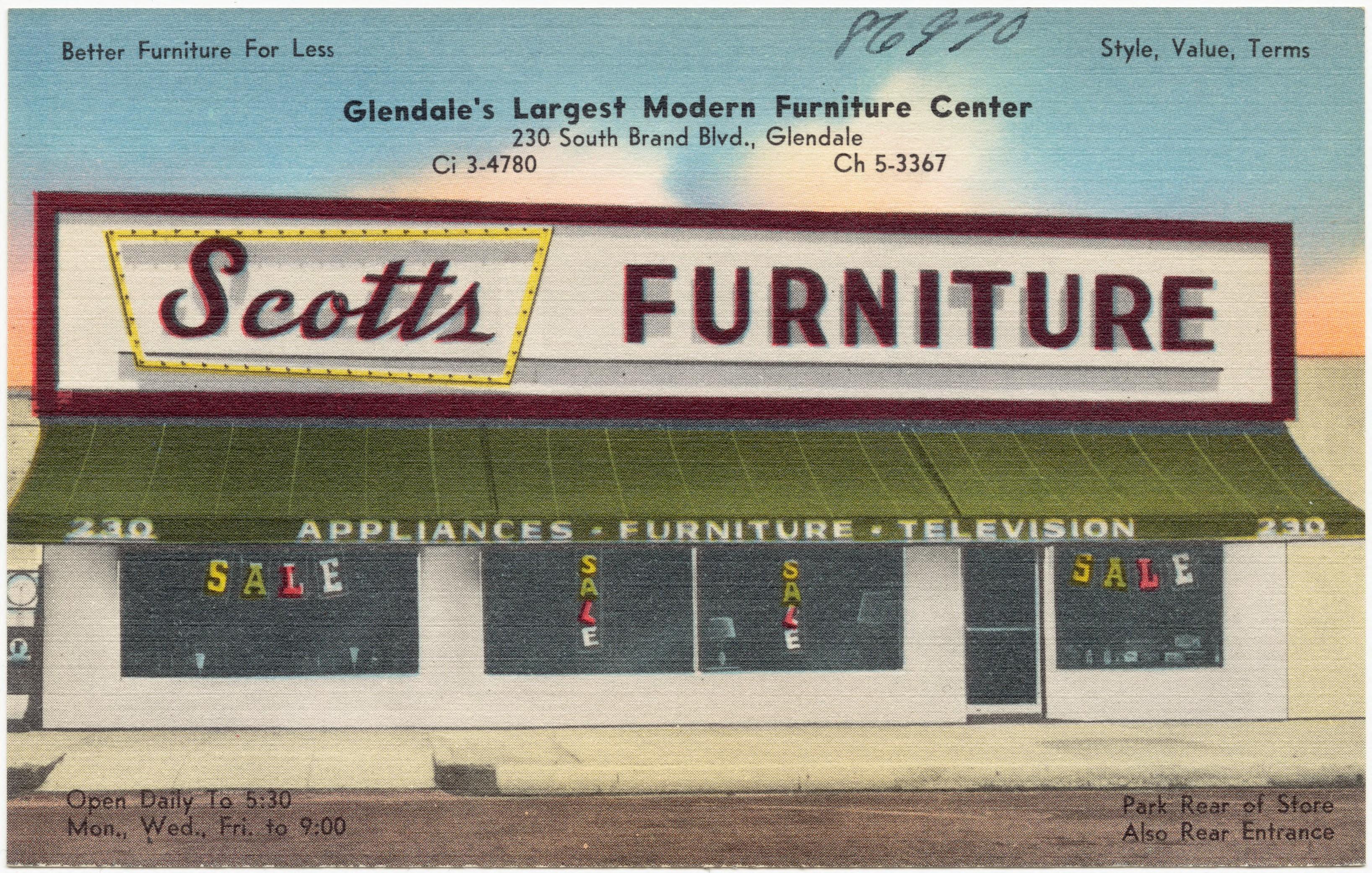 Modern Furniture Glendale file:scotts furniture, glendale's largest modern furniture center