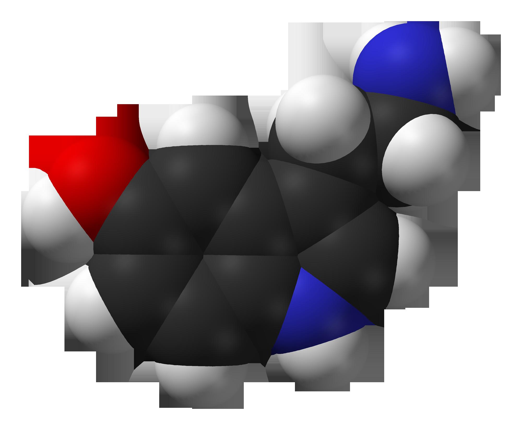 Serotonina en su máximo esplendor. Fuente Wikipedia