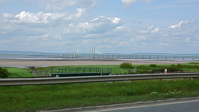 Severn Estuary and mud flats near Severn Beach - geograph.org.uk - 1602845