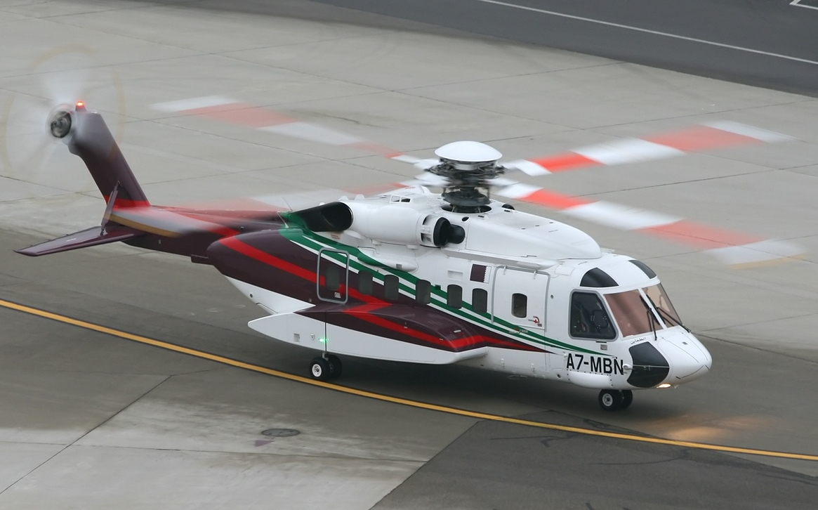 Elicottero S 92 : File sikorsky s helibus gulf helicopters jp g