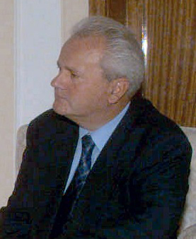Slobodan Milosevic, presidente de Serbia durante la guerra. Fuente: Wikipedia
