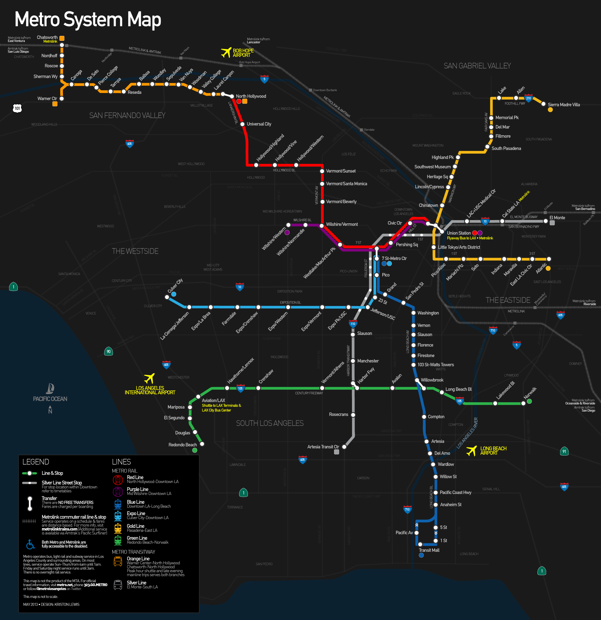 LRT Today Los Angeles39s Suburban Light Rail System
