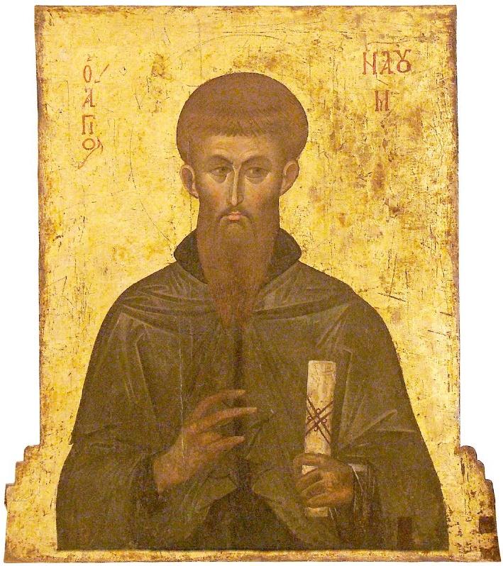 St_Naum_of_Ohrid%2C_Last_Quarter_of_XIV_Century%2C_St_Mary_Perivleptos_Church%2C_Ohrid_Icon_Gallery Всемирното Православие - Православен Календар