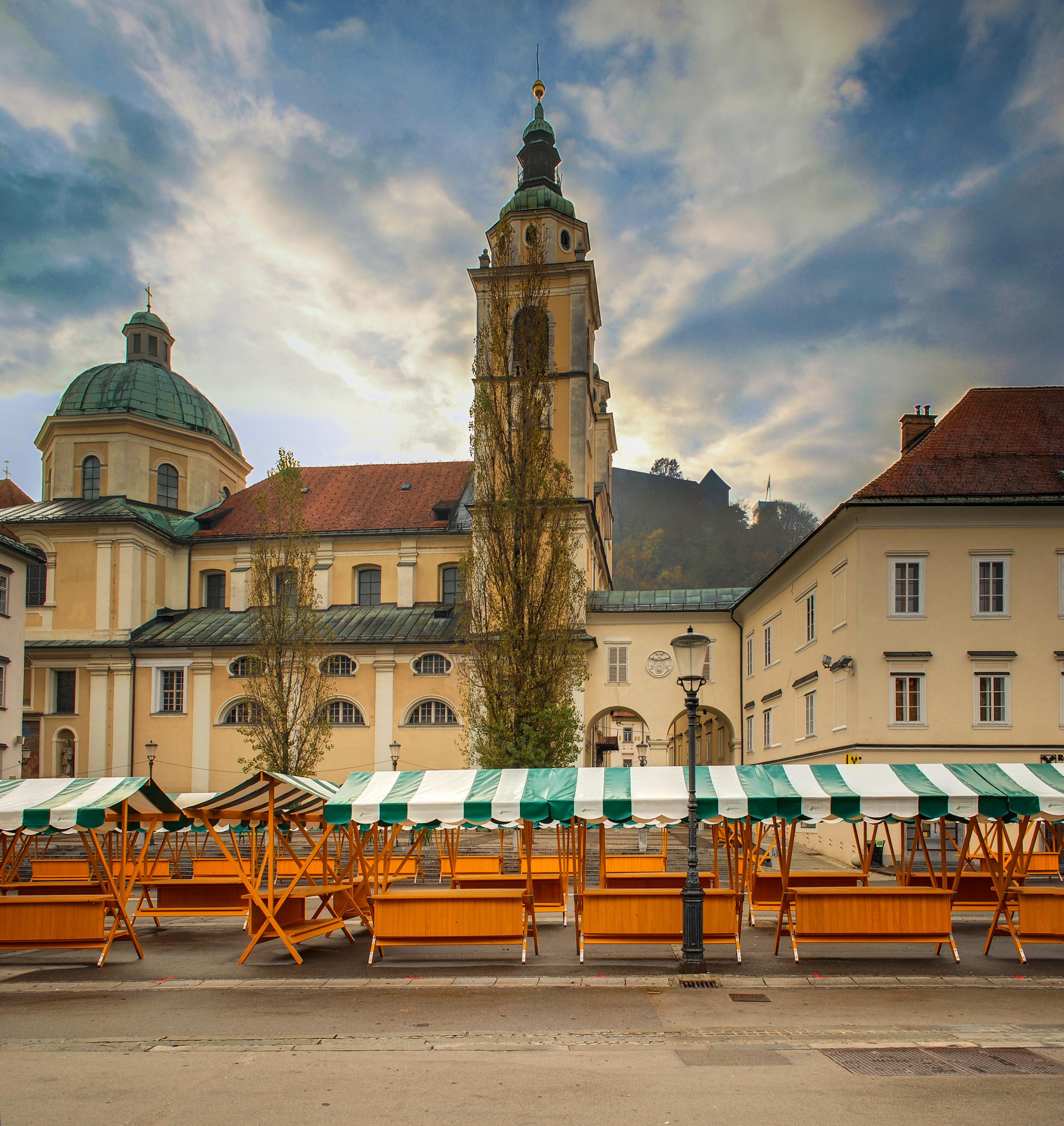 Ljubljana St. Nikolaja Cathedral