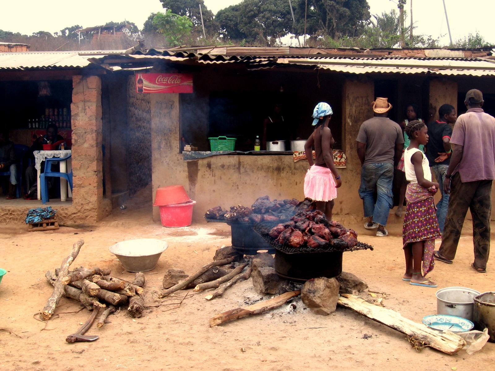 File:Streetscene Angola village.JPG - Wikimedia Commonsangola village