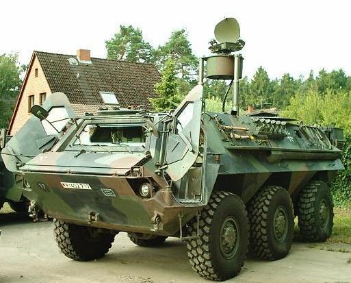 Armée Allemande (Bundeswehr) TPz1.Fuchs.PARA.Rasit