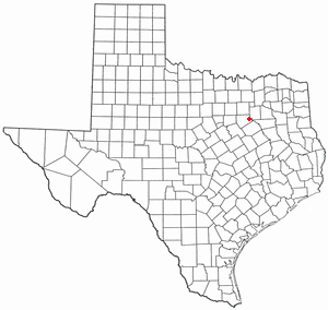 Location of Telico, Texas