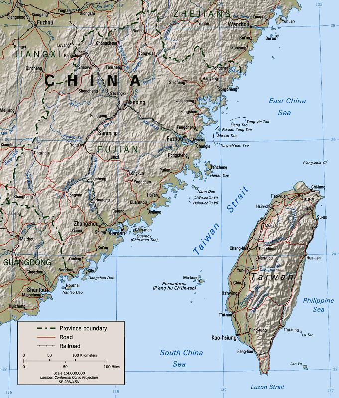 Veja o que saiu no Migalhas sobre Estreito de Taiwan