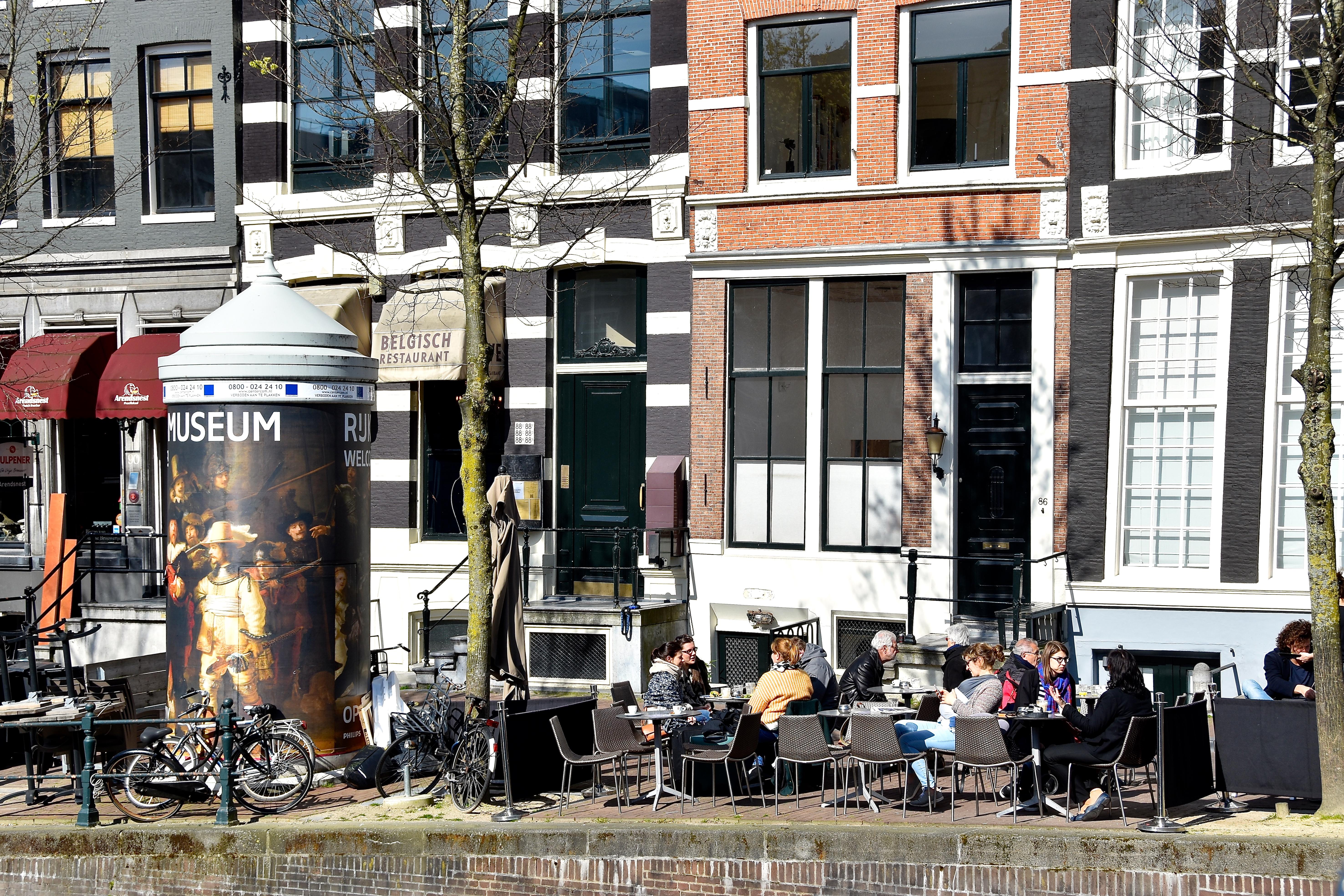 Bestand terras espressamente b ton herengracht amsterdam g