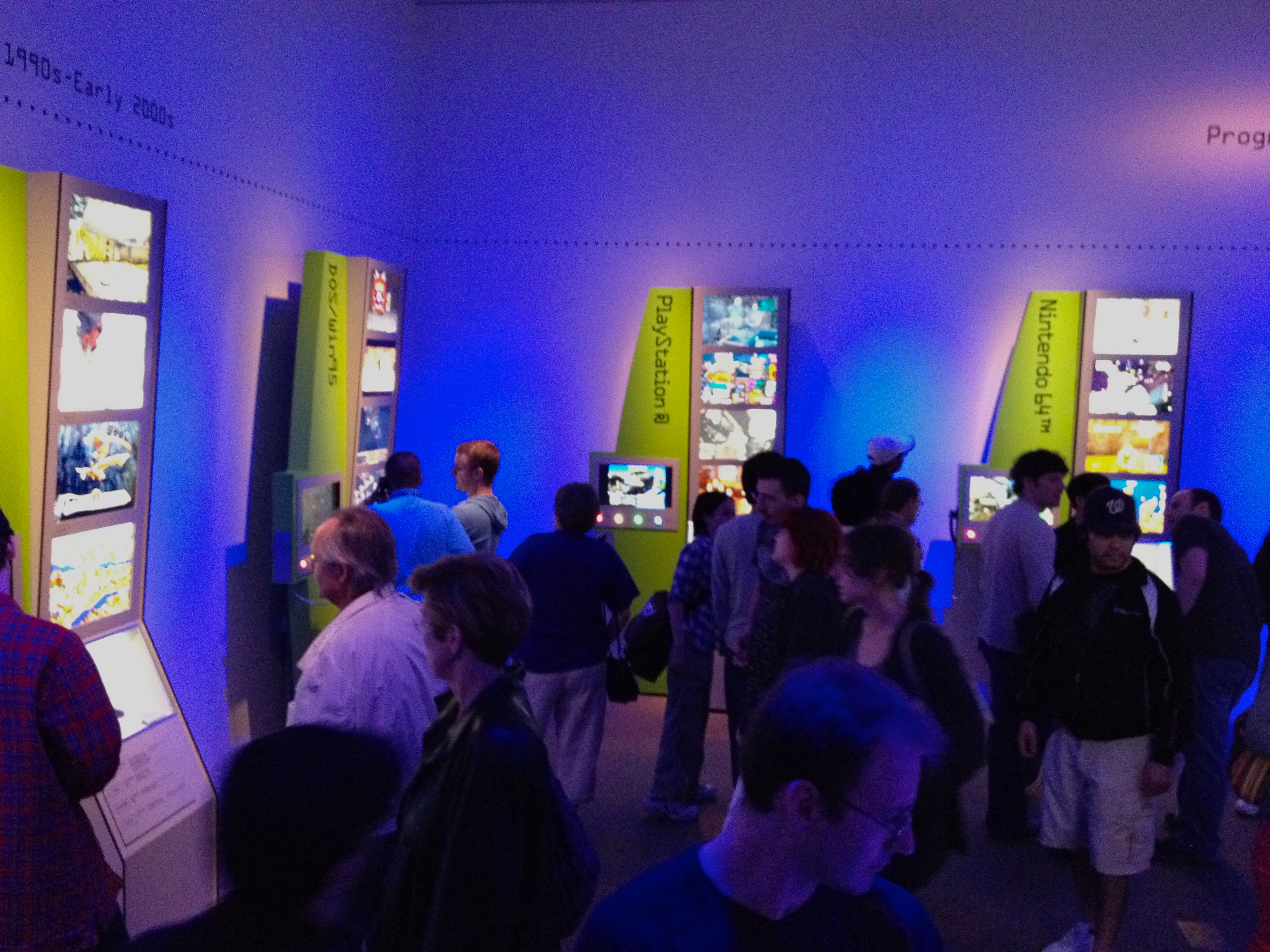 The Art of Video Games 2012 (6848246182).jpg Exhibit at the Smithsonian American Art Museum (March 16, 2012 - September 30, 2012) Photos from