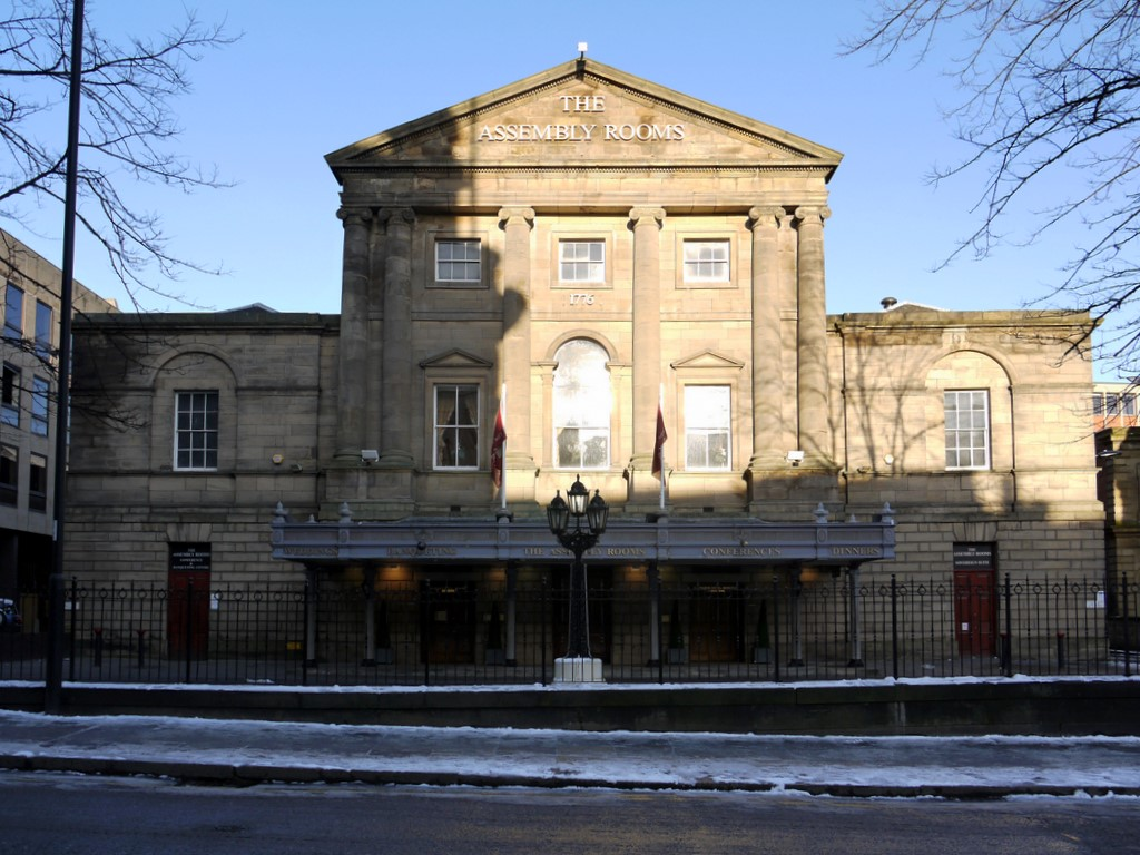 the grey lady of the Newcastle Assembly Rooms
