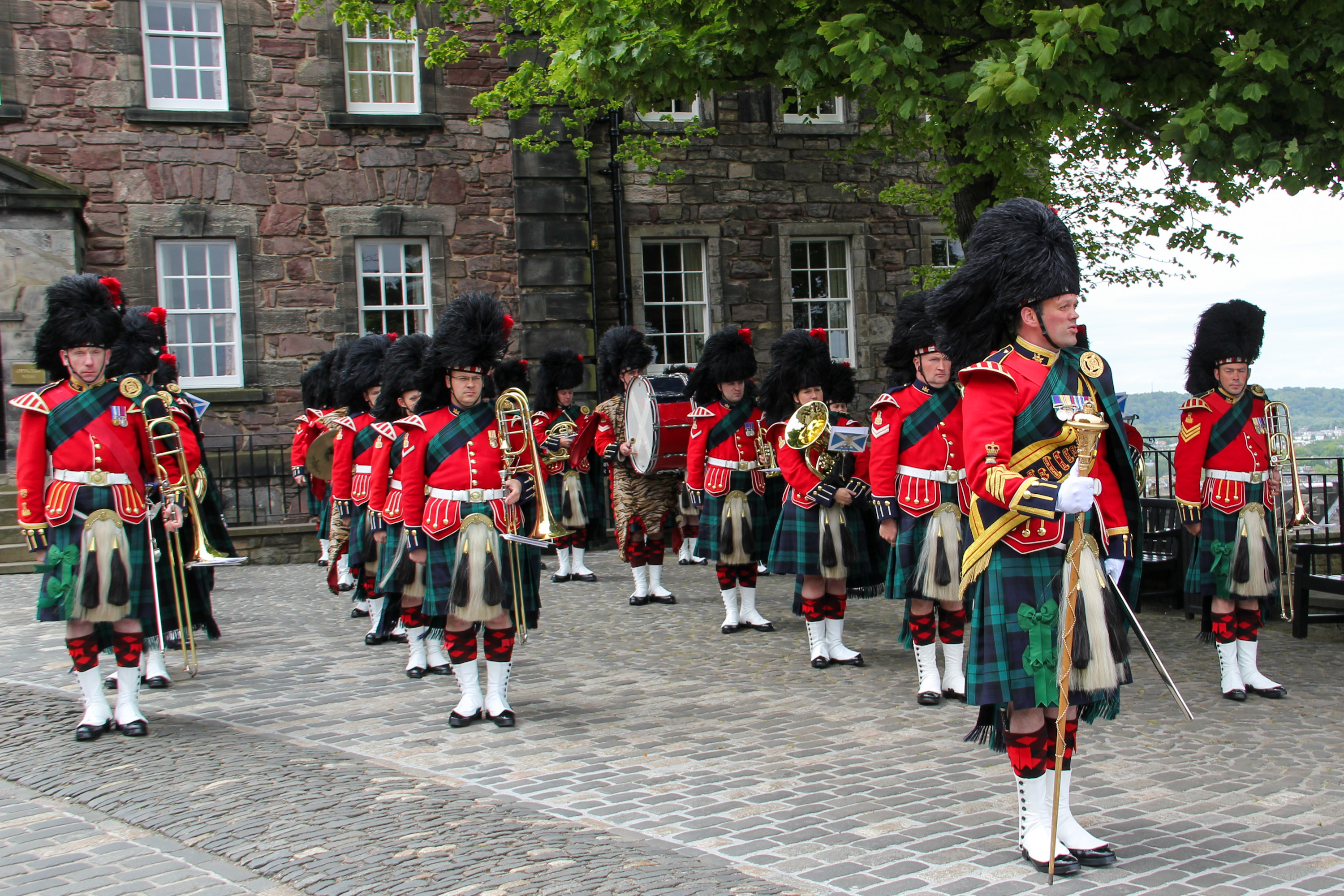 dsc marines tattoo the edinburgh bands borders royal without military at coloring