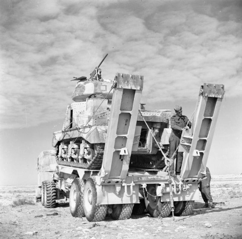 A Grant tank ready for movement