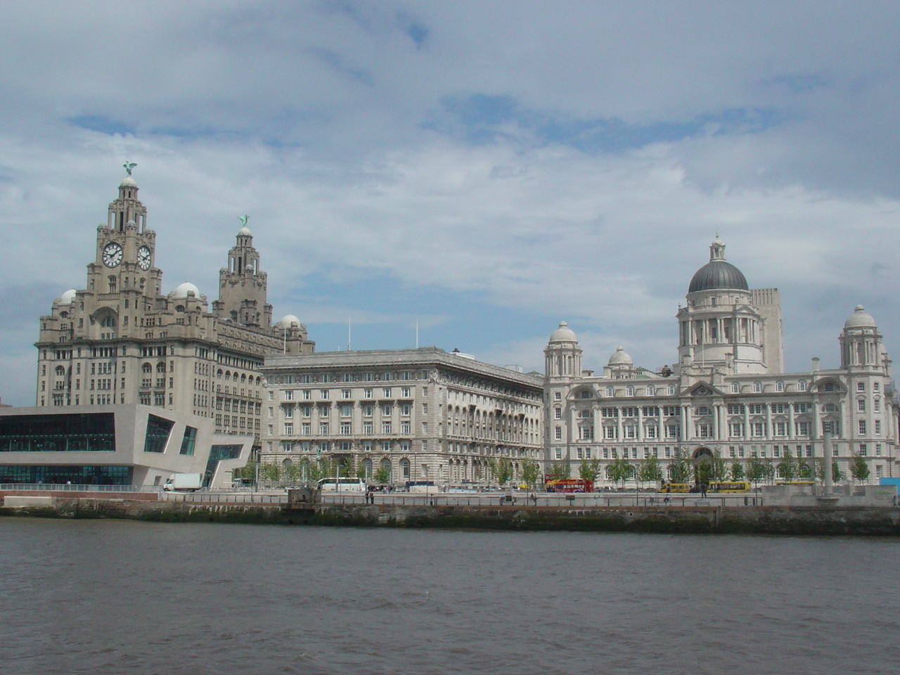 The 3 Graces at Liverpool Waterfront