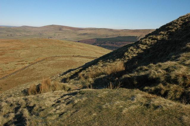 The north slopes of Shutlingsloe - geograph.org.uk - 697361