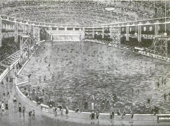 Pics For Largest Indoor Swimming Pool In The World