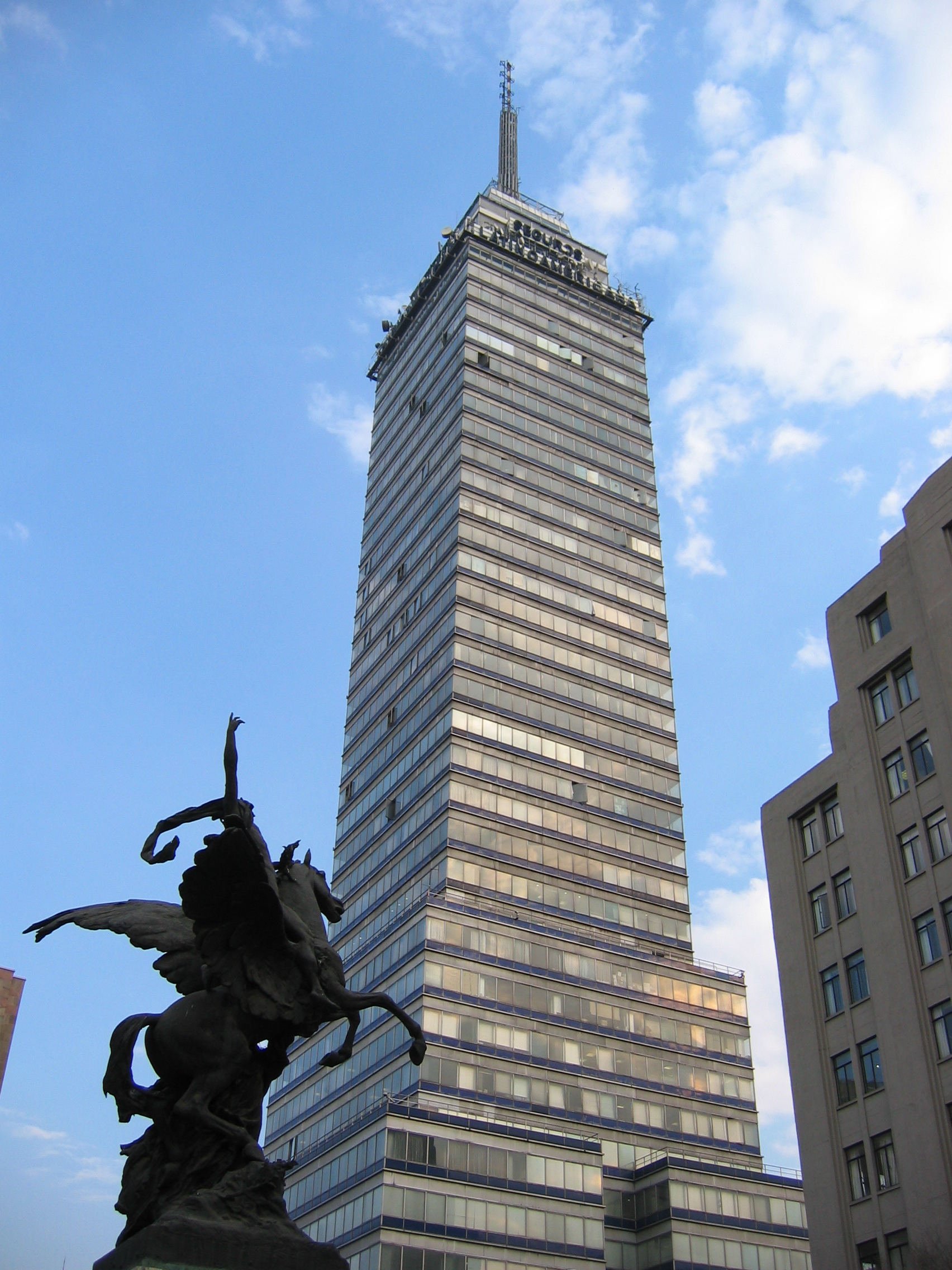 File torre latinoamericana wikipedia for Arquitectura de mexico