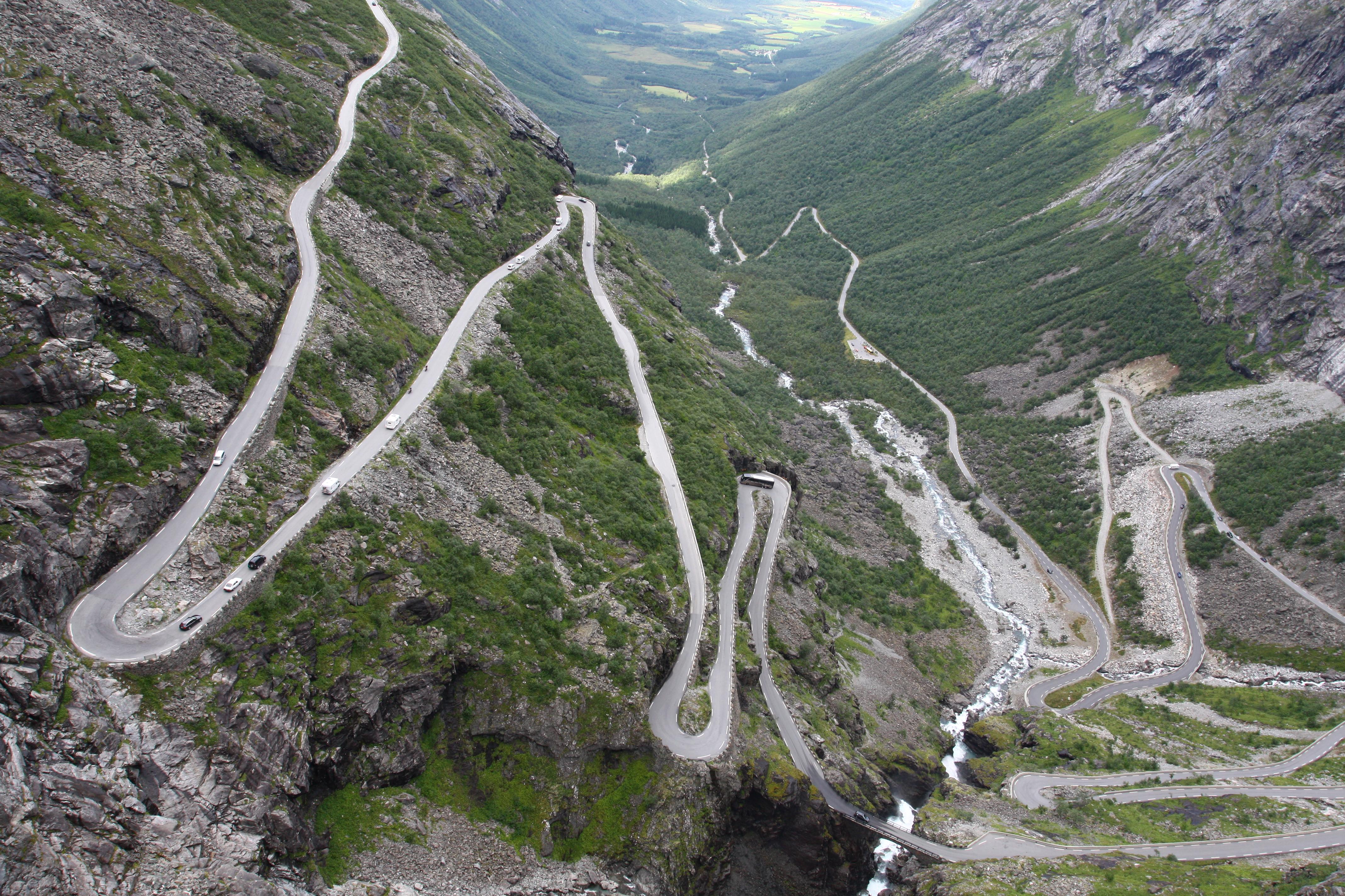 """Résultat de recherche d'images pour """"The Trollstigen, Norway"""""""