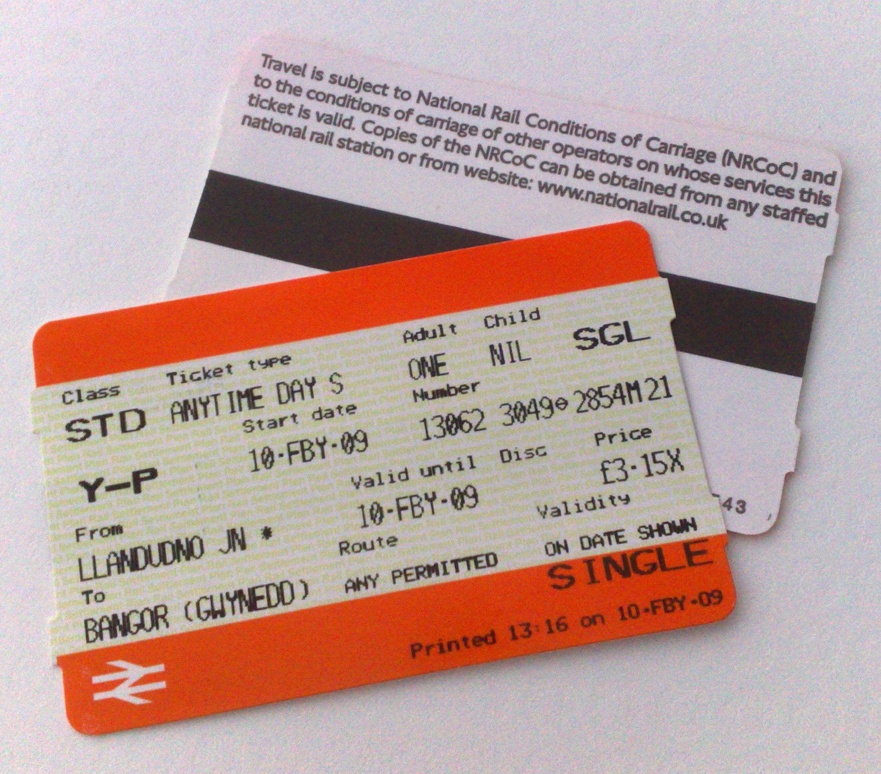 Day Travel Card London Train