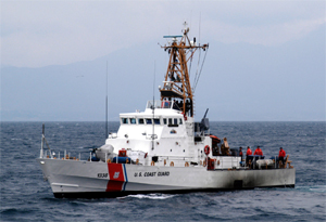 USCGC Grand Isle (WPB-1338) off Crete in 2003