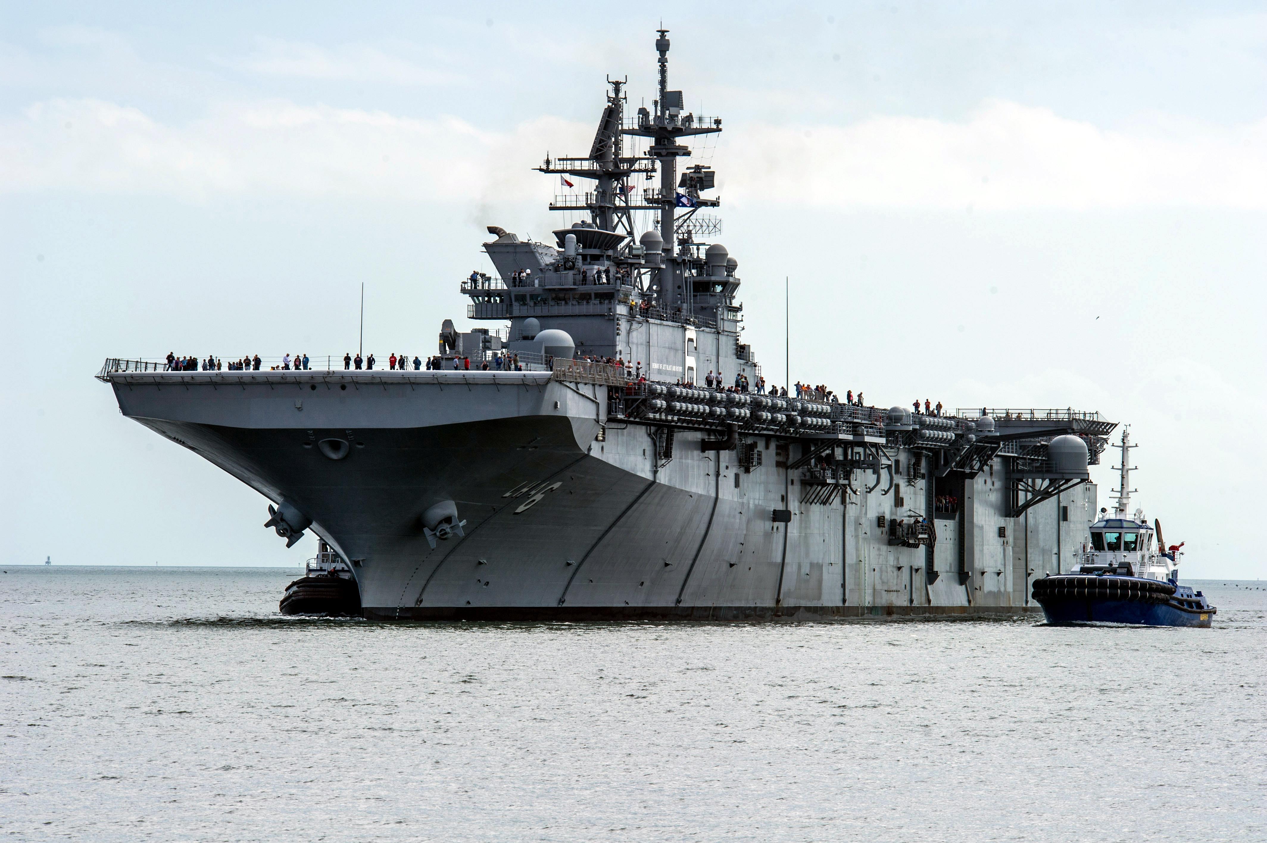 USS America amphibious assault ship